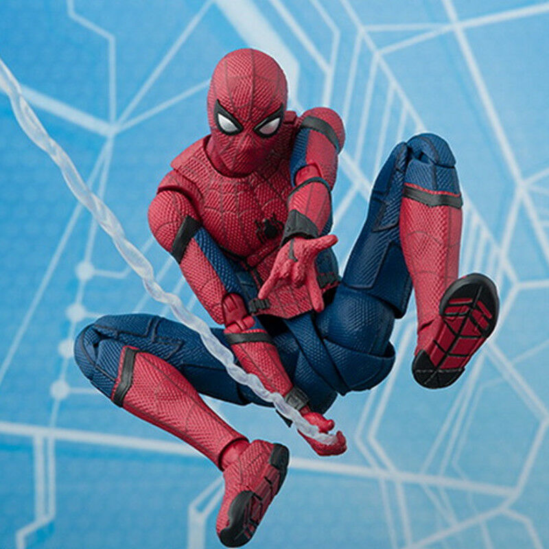 16cm Spider-Man Superheld Action Figur Avengers Spiderman Figurine Spielzeug Toy 7