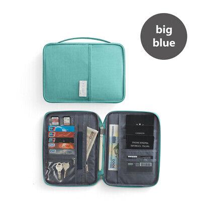 Travel Wallet Family Passport Holder Accessories Document Organizer Bag Case 9