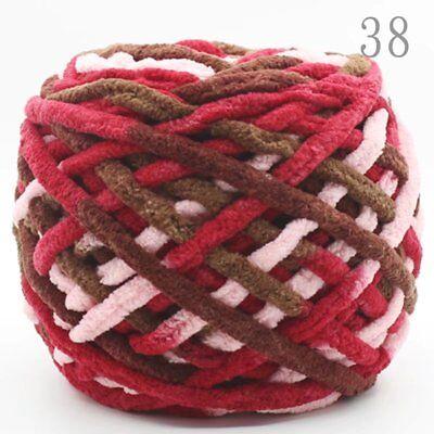 SALE Skeins 100G Super Soft Smooth DIY Chunky Yarn Crochet hand Knitting Wool 9