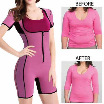 Sauna Suit Weight Loss Hot Neoprene Waist Trainer Sweat Body Spa With Sleeves