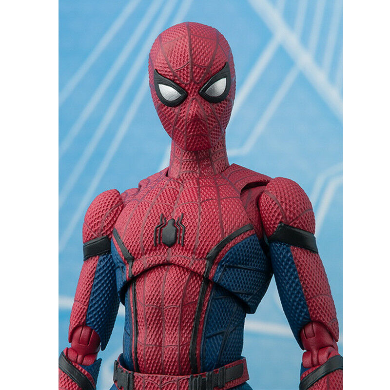 16cm Spider-Man Superheld Action Figur Avengers Spiderman Figurine Spielzeug Toy 12