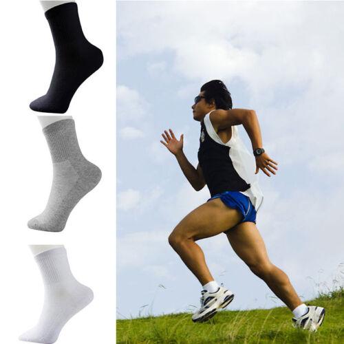 Mens Womens Cotton Rich Sport Socks Work Ankle Official Sockss 3