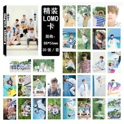 Lot of /set KPOP Bangtan Boys Collective Album Posters Photo Card Lomo card 8