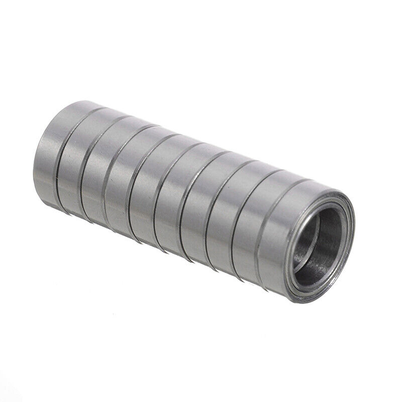 6700ZZ 10*15*4mm Deep Groove Metal Double Shielded Ball Bearing Thin Wall Roller 4