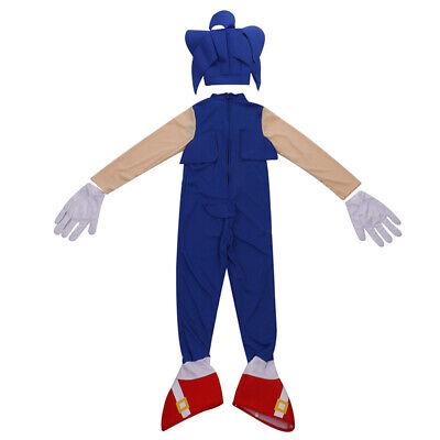 Boys Kostüm Cos Film Sonic Hedgehog Overall Cosplay Kostüme Kinder Geschenk