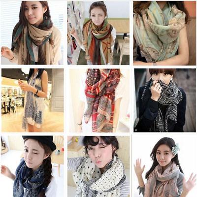 Fashion Ladies Women's Long Soft Wrap Shawl Scarf Pashmina Stole Scarves 5