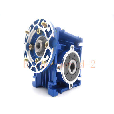 NMRV030 Worm Gear Reducer 56B14 Speed Ratio 10 15 20 25 30 40 50 60 80 100:1 4