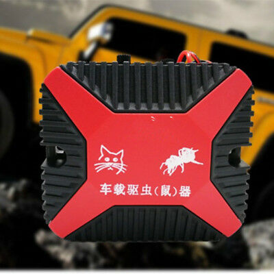 High-Tech 12V Dual Ultrasonic Engine Wire Protection Mouse Chaser Rats Repeller 4