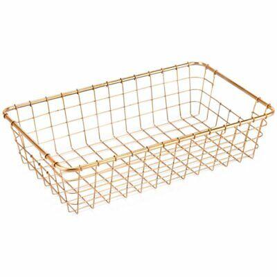 Zuo 3 Piece Basket Set in Gold 4