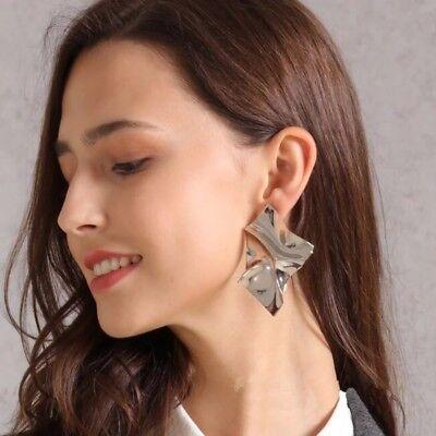 1 Pair Women Multi Style Circle Large Big Linked Hoop Dangle Long Earrings Studs 9
