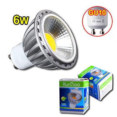 LED COB GU10 Spot Lampe Birne Leuchte Strahler Licht Glühbirne 6W Neutralweiß