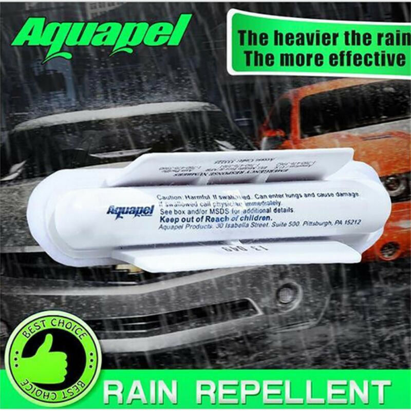 Applicator Windshield Glass Treatment Water Rain Repellent Repels E7 3