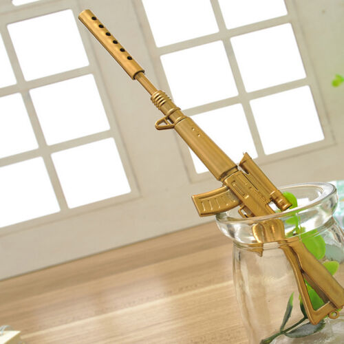 Fancy&Fantasy Rifle Shape Black Ink Ballpoint Pen Stationery Office Ball Point 5