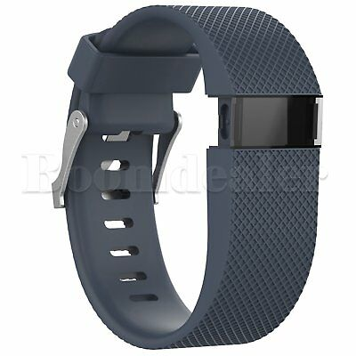Replacement Silicone Wrist Strap Bracelet For Fitbit Charge HR Activity Tracker 10