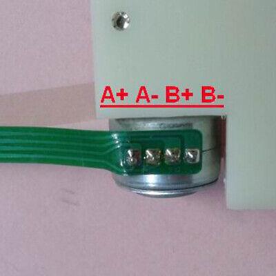 DC 5V 2 phase 4-wire Mini Stepper Motor 64mm Linear screw slider block Nut Stage 2