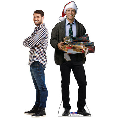 CLARK GRISWOLD Christmas Vacation CARDBOARD CUTOUT Standup Standee Poster Chevy 3