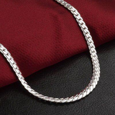 Fashion 925 Silver Plated Jewelry Men Women Bracelet Bangle Jewlery Party Gift 4