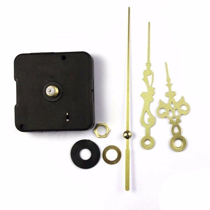 DIY Quartz Clock Movement Mechanism With Hour Minute Hand DIY Repair Parts Kit 7
