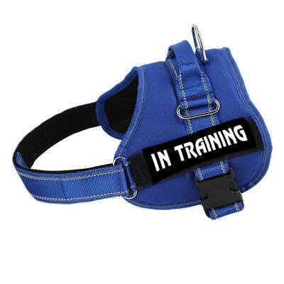 ESA Dog Harness No Pull Collar Patch Emotional Support Therapy Pet Service Vest 5