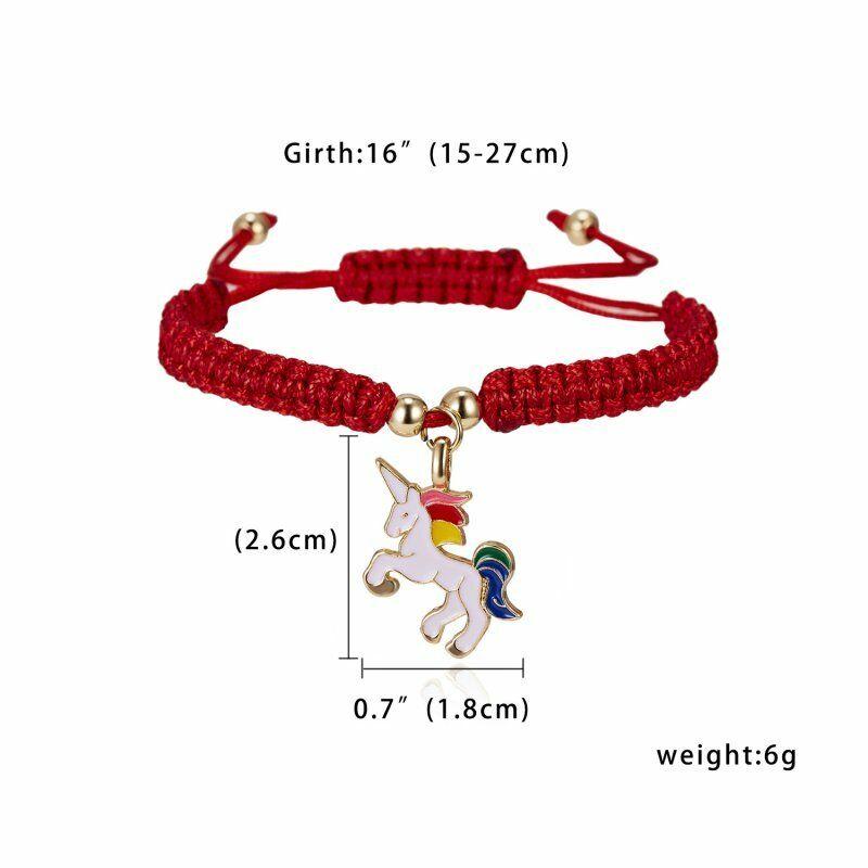 Handmade Heart Star Rope Bracelet Bangle Friendship Couple Card Jewelry Gift NEW 9