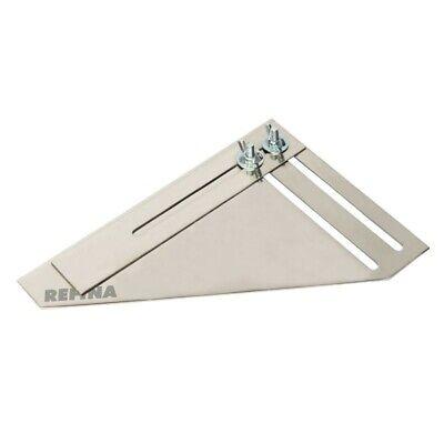 Refina Plasterers Window Reveal Gauge Adjustable Square & Angle Tool - 640006 - 2