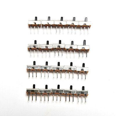 2 Position Spdt 1P2T 3 Pin Leiterplatten-Panel Vertikaler Schiebeschalter LMD YR 2