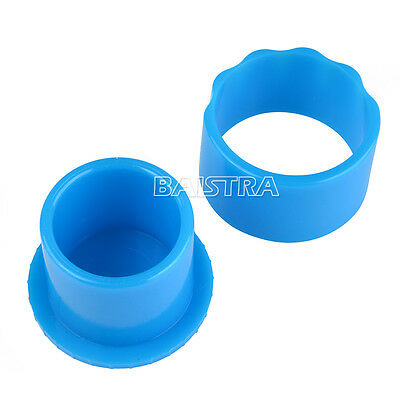 10X Dental Autoclavable Round Endo Stand Cleaning Clean Foam Sponges File Holder 6