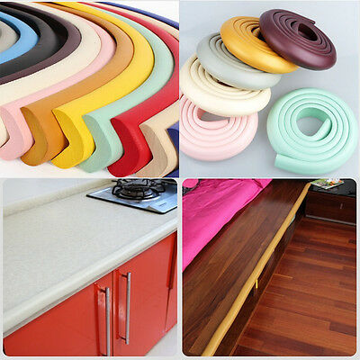 1PcTable Edge Corner Guard Foam Cushion Strip Baby Safety Inexpensive 10 Colors 3
