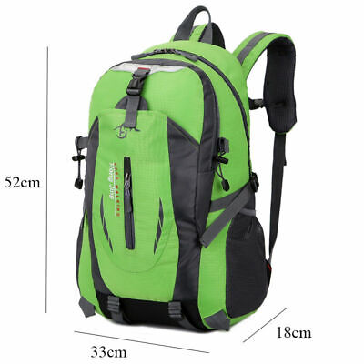 40 Liter Waterproof Outdoor Sports Bag Backpack Travel Hiking Camping Rucksack 8