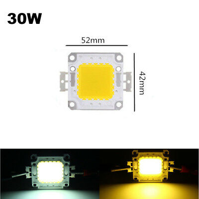 10W 50W 100W LED Lamp Light COB SMD Bulb Chip 20W 30W 70W High Power DIY 12-36V 8