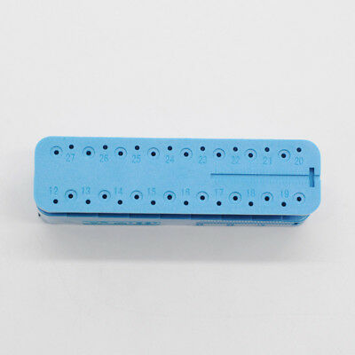 Dental Lab Instrument Ruler Endo Measuring Autoclavable Endodontic Block Files 2