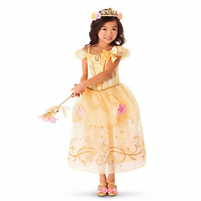 Belle Filles Robe de Princesse Déguisement Rapunzel  Cendrillon Sofia Cosplay 9
