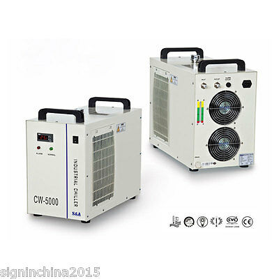 220V 50HZ CW-5000AG Industrial Water Chiller for One 80W/100W CO2 Laser Tube