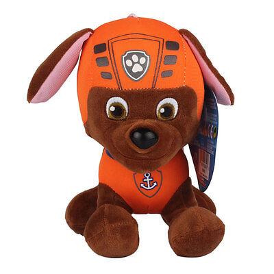 """Plush Pup Pals 8"""" Paw Patrol Skye/zuma Rocky Soft Toys Nickelodeon Dog Set Gift 8"""