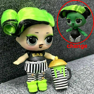 Ultra RARE LOL Surprise Doll BHADDIE Hairgoals Series 5 with Accessories Earring