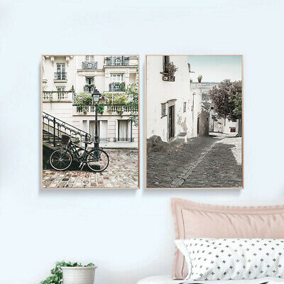 Scandinavian Wall Art Canvas Poster Nordic Scenery Print Home Decoration Picture 4