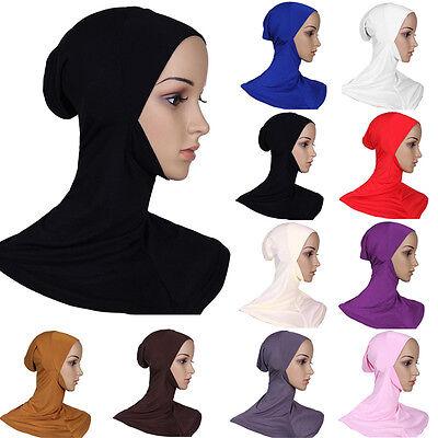 Mussulmano Cotone Pieno Copertura Hijab Interna Cappellini Islamico Stretto 2