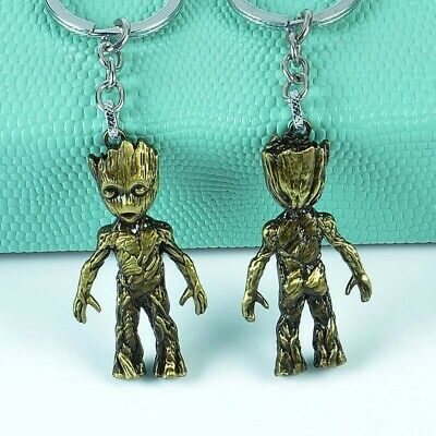 Marvel Avengers Guardians of the Galaxy Groot Alloy Key Chains Keychain Keyring 5