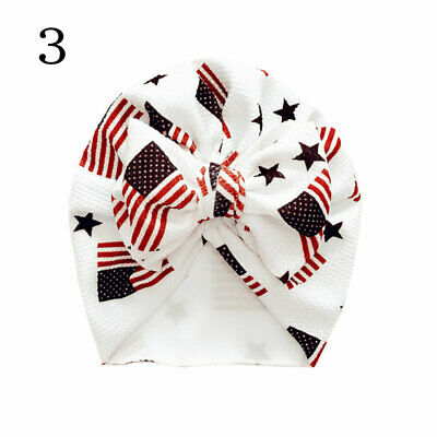 Newborn Baby Hat Head Wrap Flower Soft Bowknot Baby Turban Cap For Girl Toddler 7