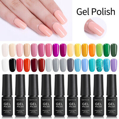 146Colors 7ml UV Gel Nail Polish Soak Off UV/LED Gel Nails  DIY LILYCUTE Tools 8