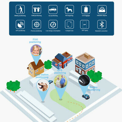 16x Mate GPS Bluetooth Tracker Key Pet Kids Finder Locator iPhone Android Phone 10