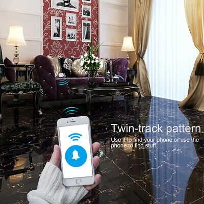 Tile Bluetooth Tracker: Mate Replaceable Battery Item Tracker GPS Key Pet Finder 6