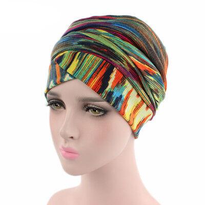 Musulmane Femme Extensible Arabe Longue Écharpe Islamic Turban Chapeau Tête Warp