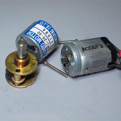 THINK DC12V-24V 350RPM mini 20mm Full Metal Gearbox Gear motor Reducer DIY Robot 5