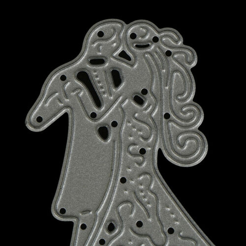 Romantic Dancing Lovers Wedding Cutting Dies For Scrapbooking Card Craft DecorPD