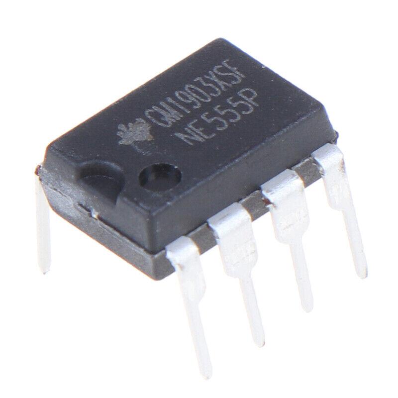 10PCS NE555P DIP-8 original IC time base circuit single high precision timer G3 10