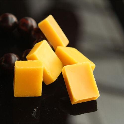 2 X Bee Wax Bienenwachs Block für Kerzen Kosmetik Möbelwachs Seife J0N3