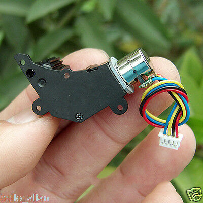 Worm Gear Reducer Gearbox Stepper Motor DC3~6V 2-Phase 4-Wire For Digital Camera 3