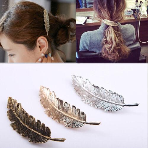 Fashion Women Girls Gold Silver Animal Flower Hairpin Hair Clip Hair Accessories 3