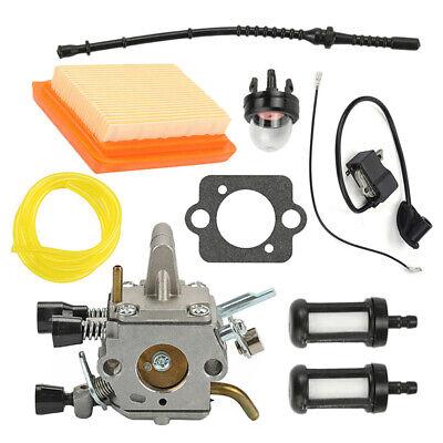 Carburateur Allumage Kit Kit pour Stihl FS120 FS200 FS250 FS250R FS300 FS350 De 9